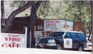 Photo of Potrero Cafe where I saw Supervisor Gilbert on 8-1-00